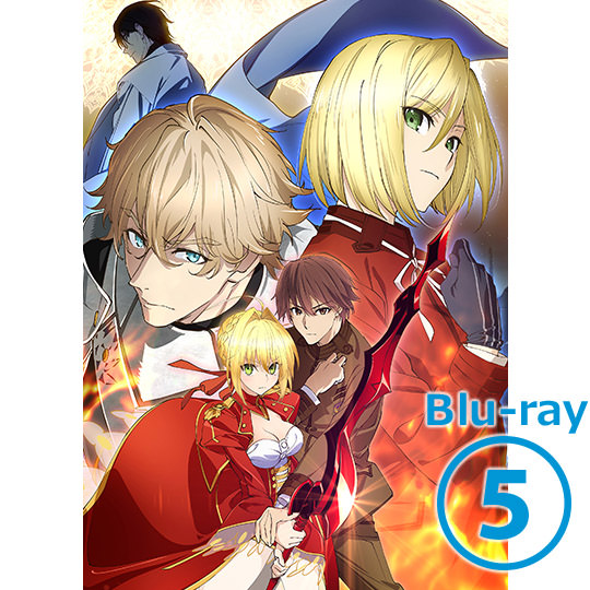 Fate/EXTRA Last Encore 5 【完全生産限定版】Blu-ray